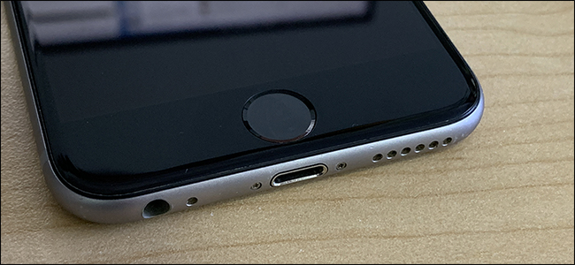 Touch ID sur l'iPhone 6