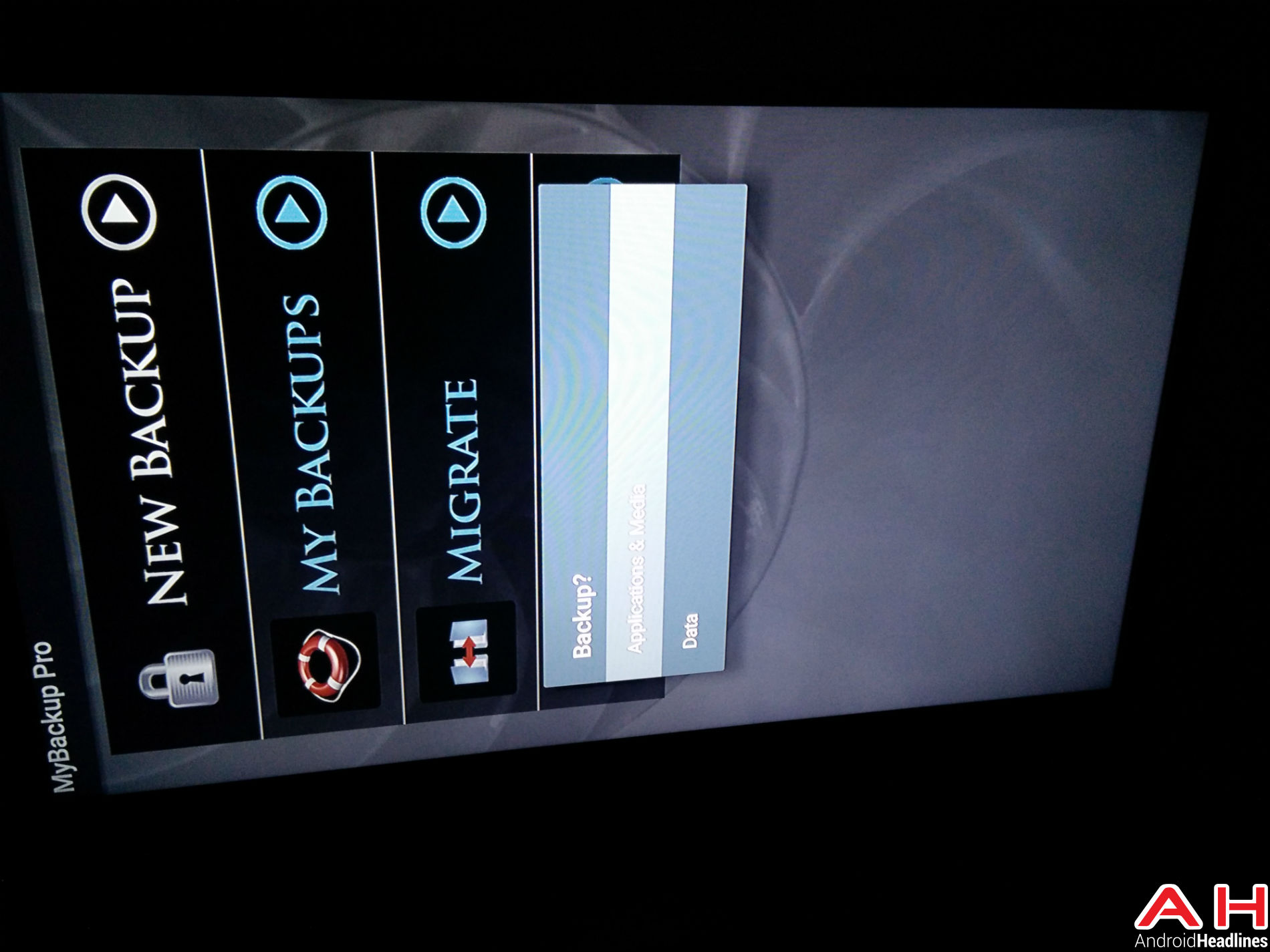Android TV My Backup 21