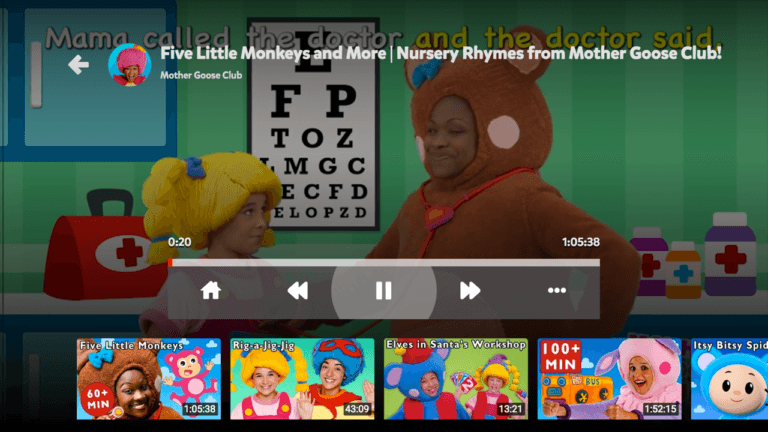 youtube kids android tv 3