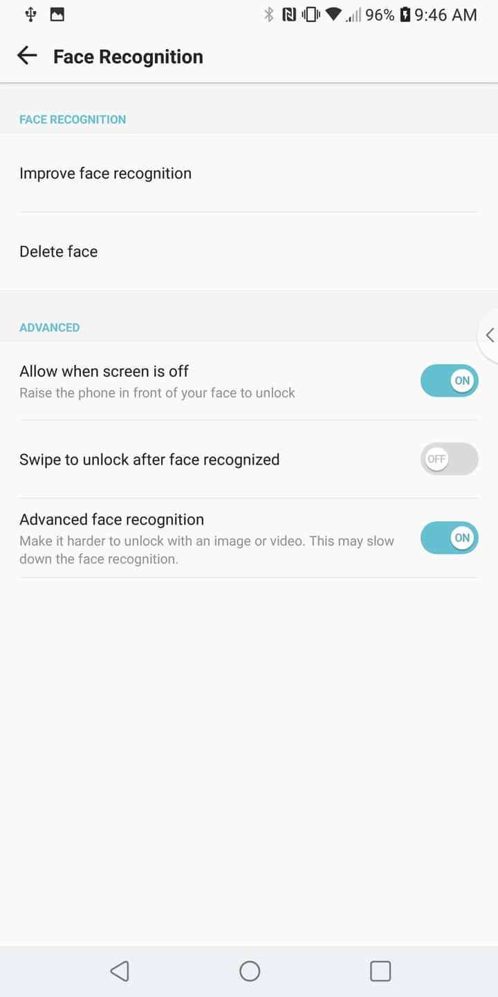 LG V30 AH NS Screenshots security 3