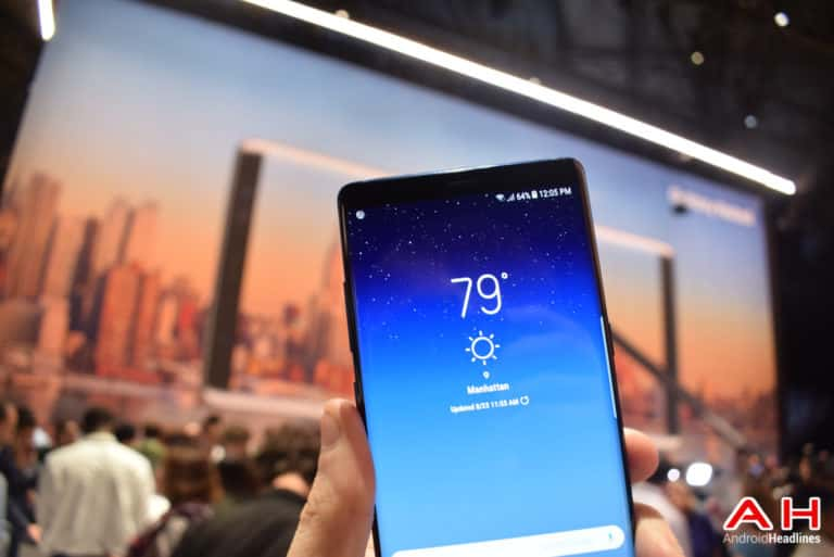 Samsung Galaxy Note 8 AH 62