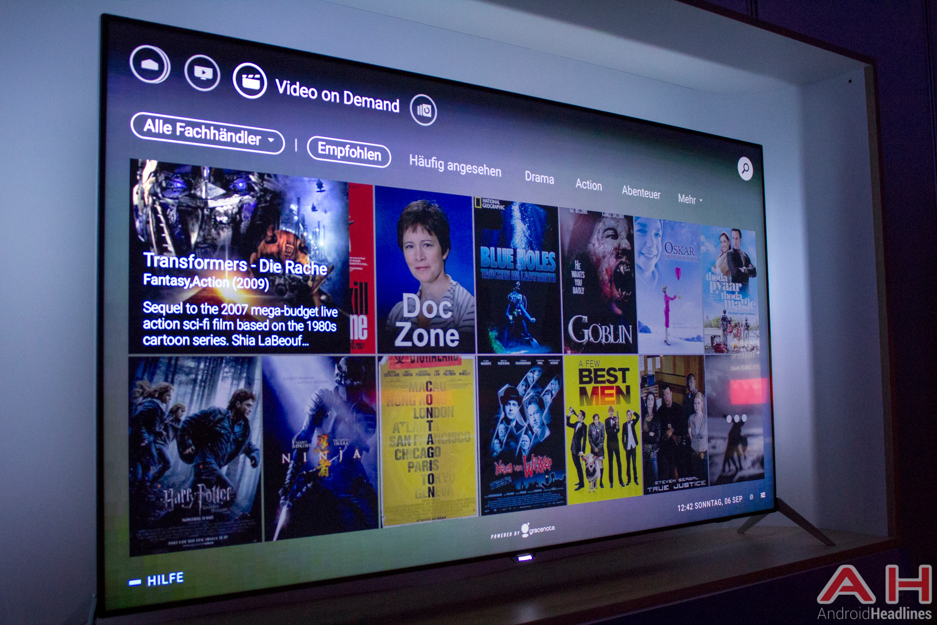 Philips 9600 Android TV AH 7
