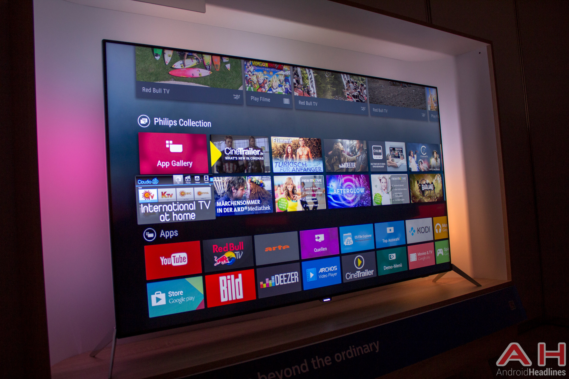 Philips 9600 Android TV AH 2