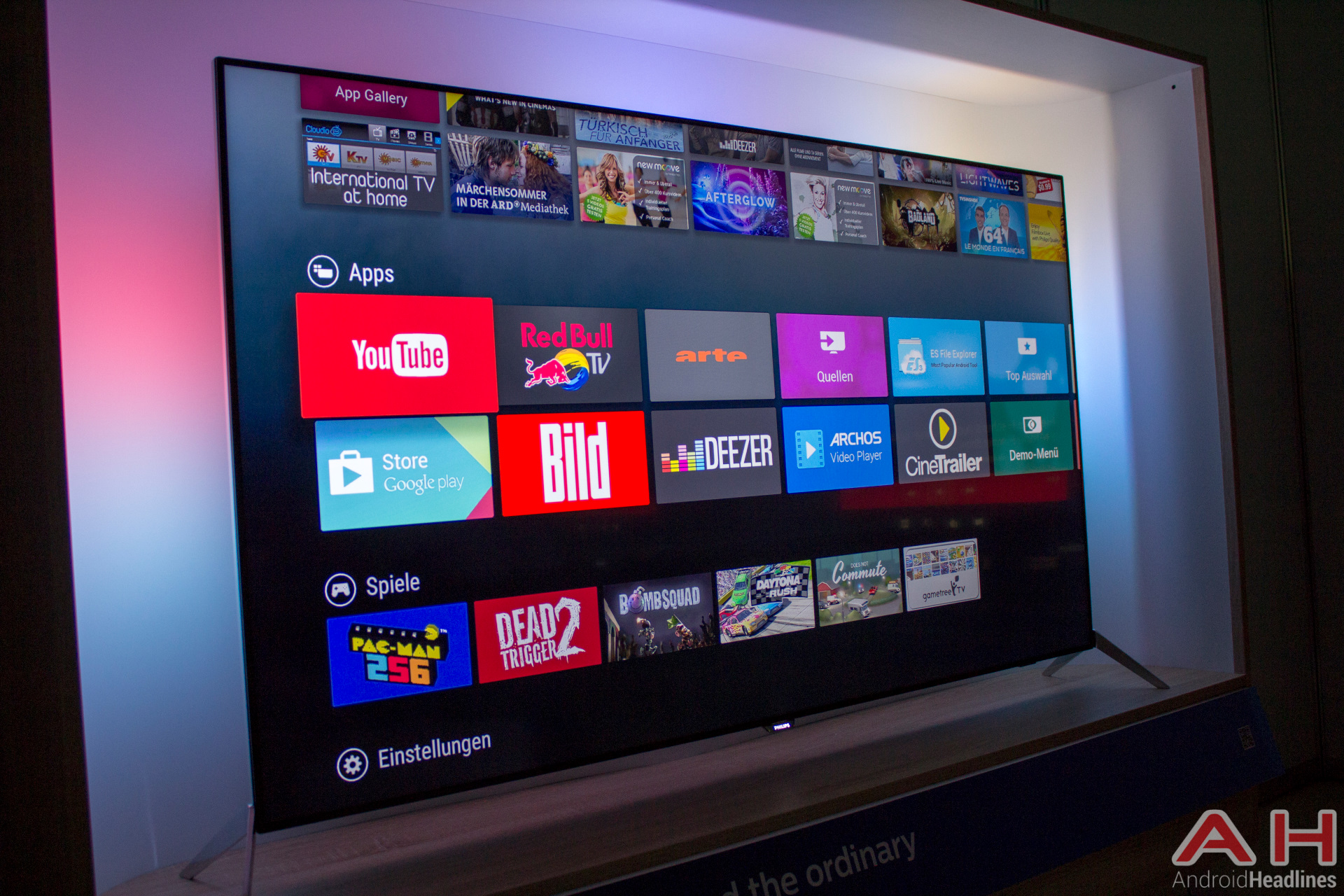 Philips 9600 Android TV AH 1