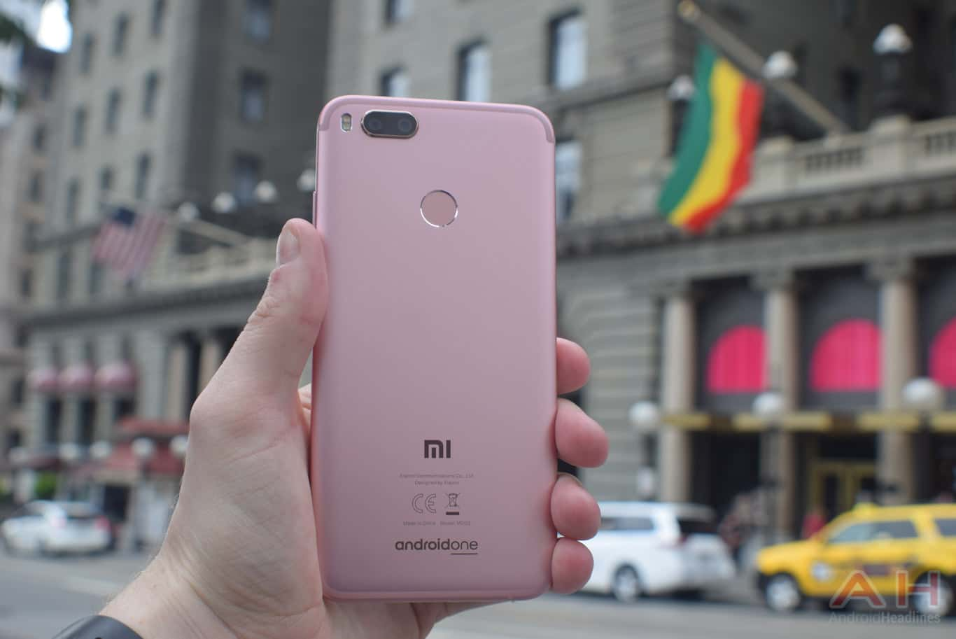 Courte critique du Xiaomi Mi A1 AM AH 11