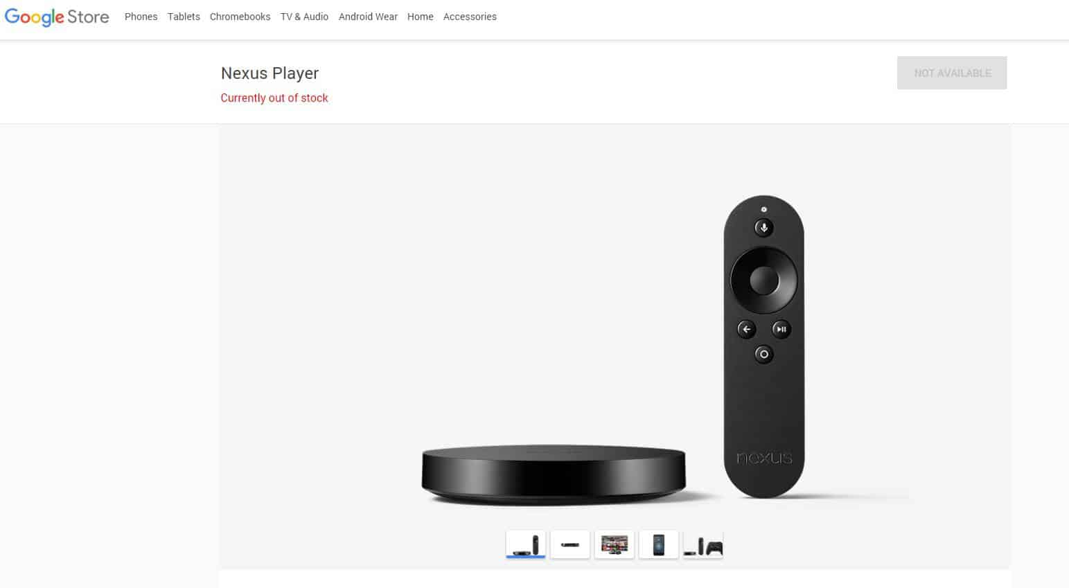 Google Store Nexus Player