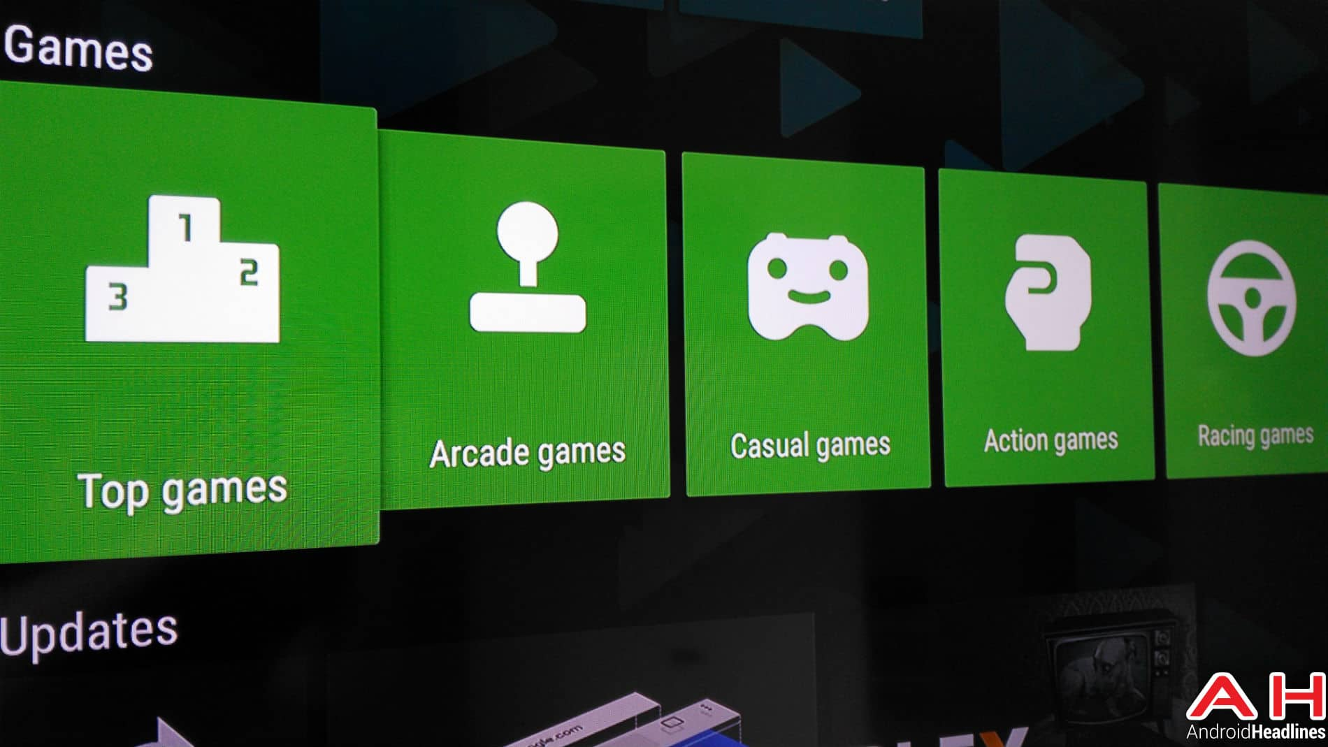 Applications Android TV AH 3