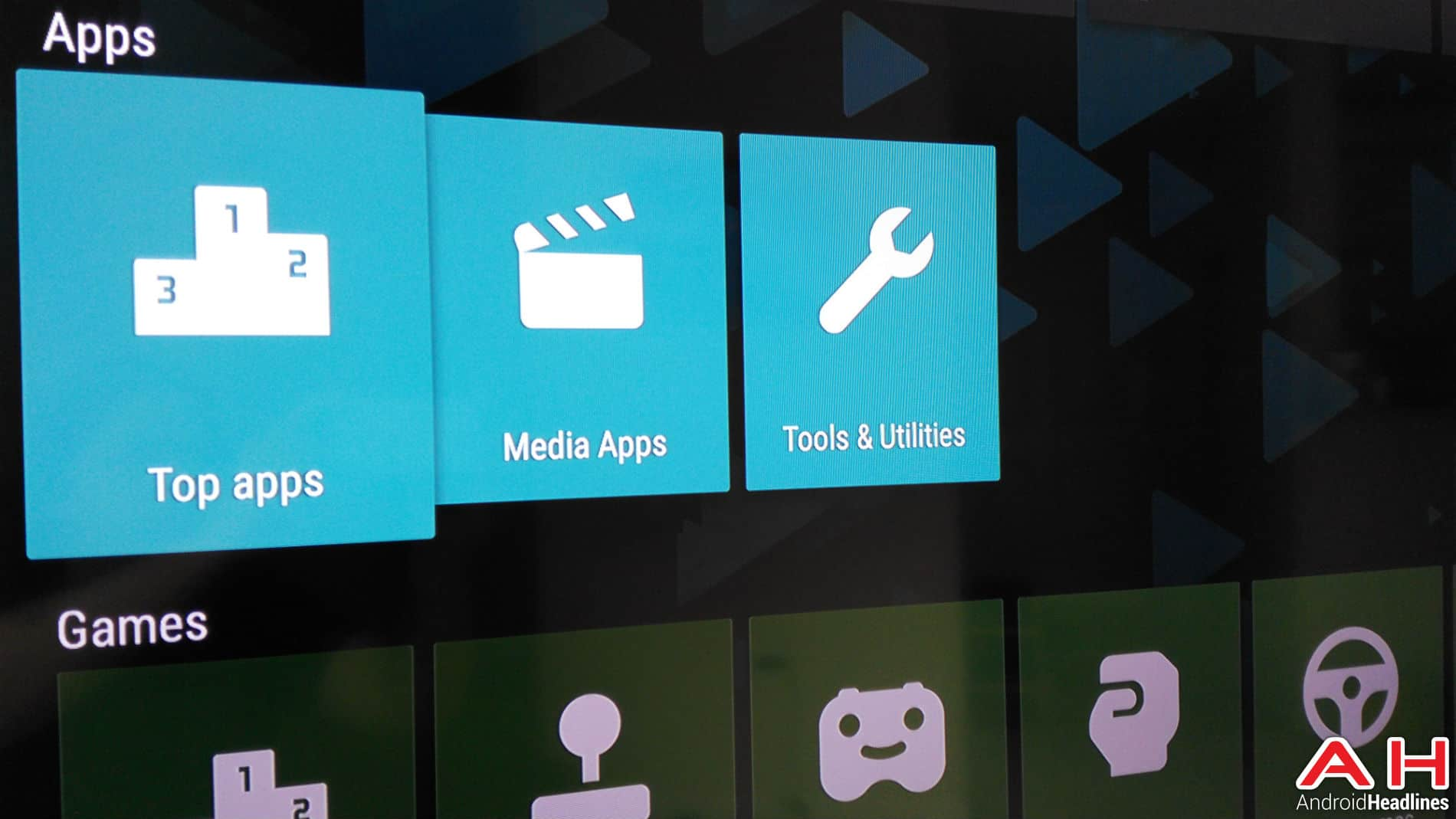 Applications Android TV AH 4