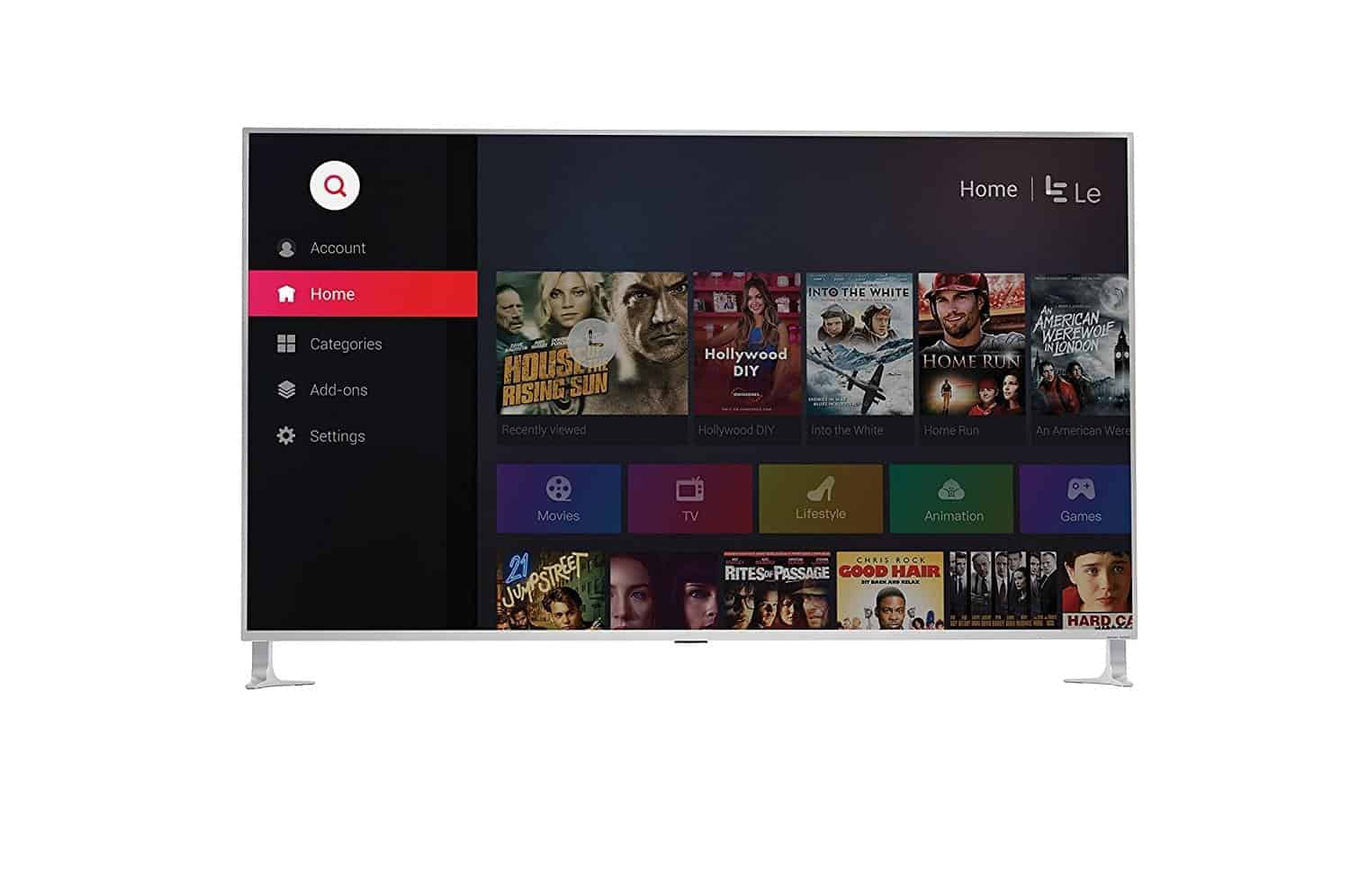 leeco super4 android tv 6