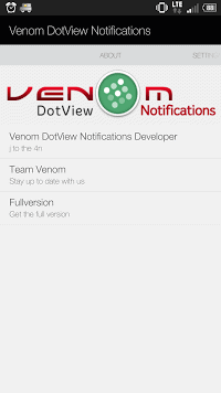 application dotview htc one m8