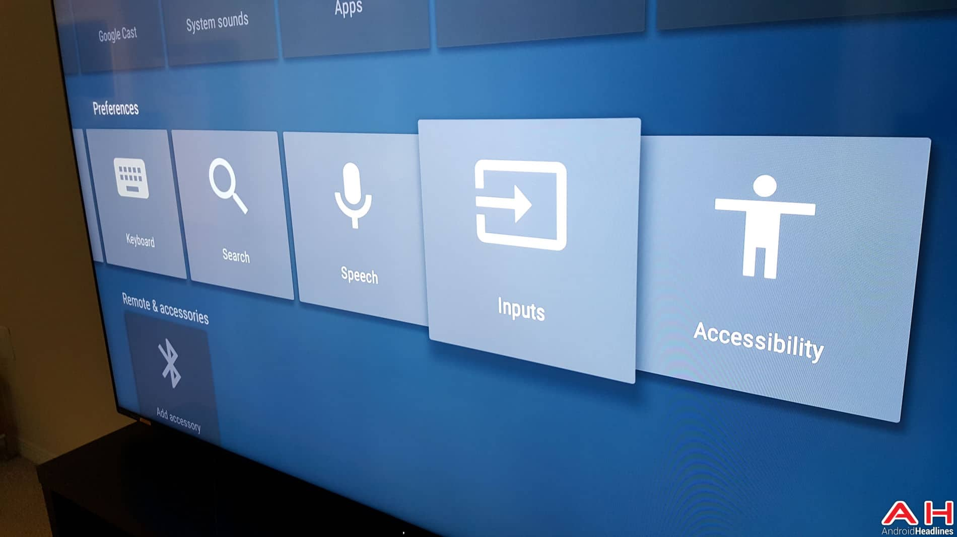 Sharp TV Android TV-3